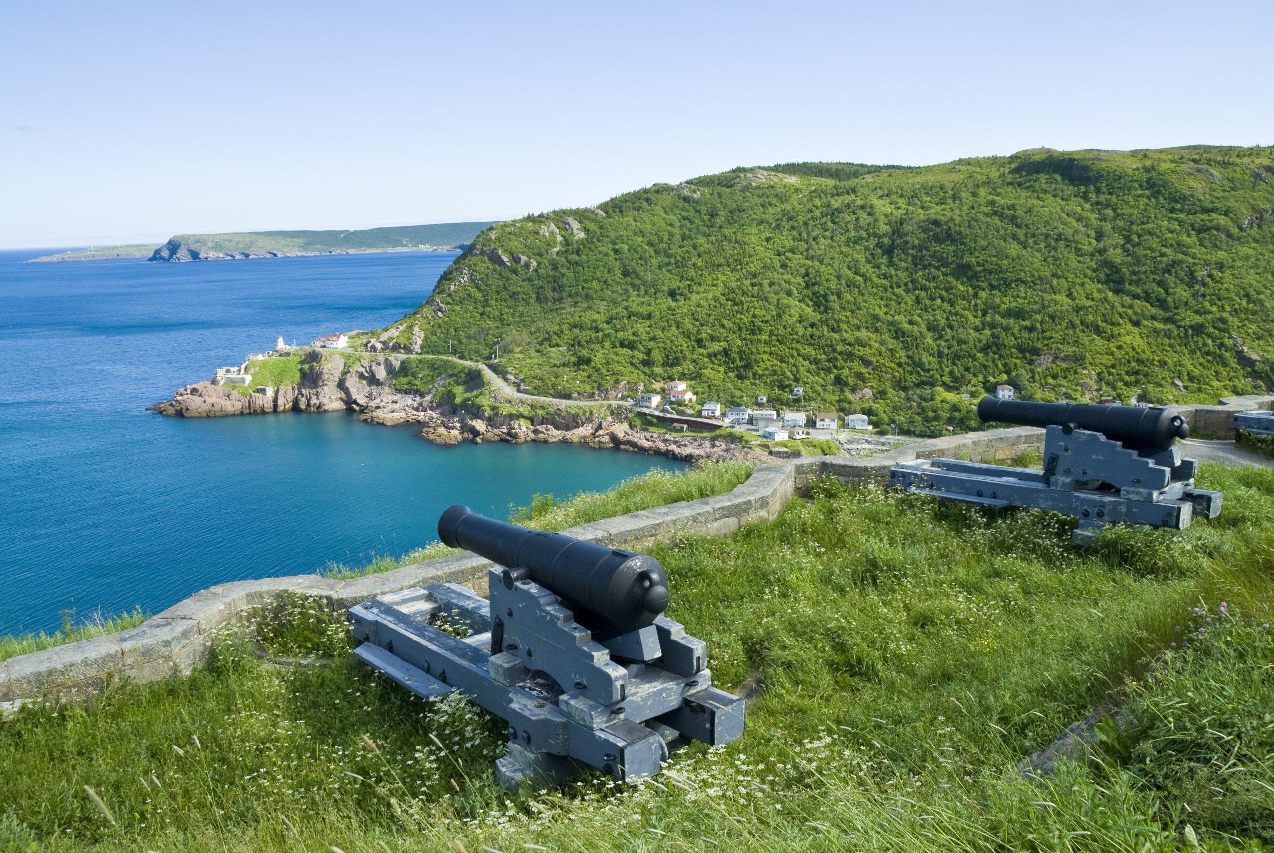 Big Canons on Signal Hill, St. John's